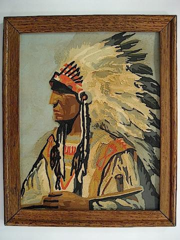 Mersky Gallery Cowboys Amp Indians Paint By Number Museum