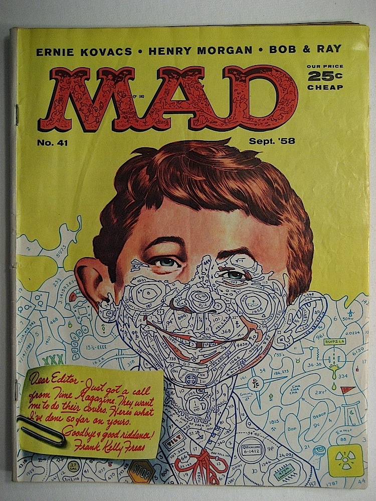 Mad Magazine No. 41 Ernie Kovacs, Henry Morgan, Bob & Ray
