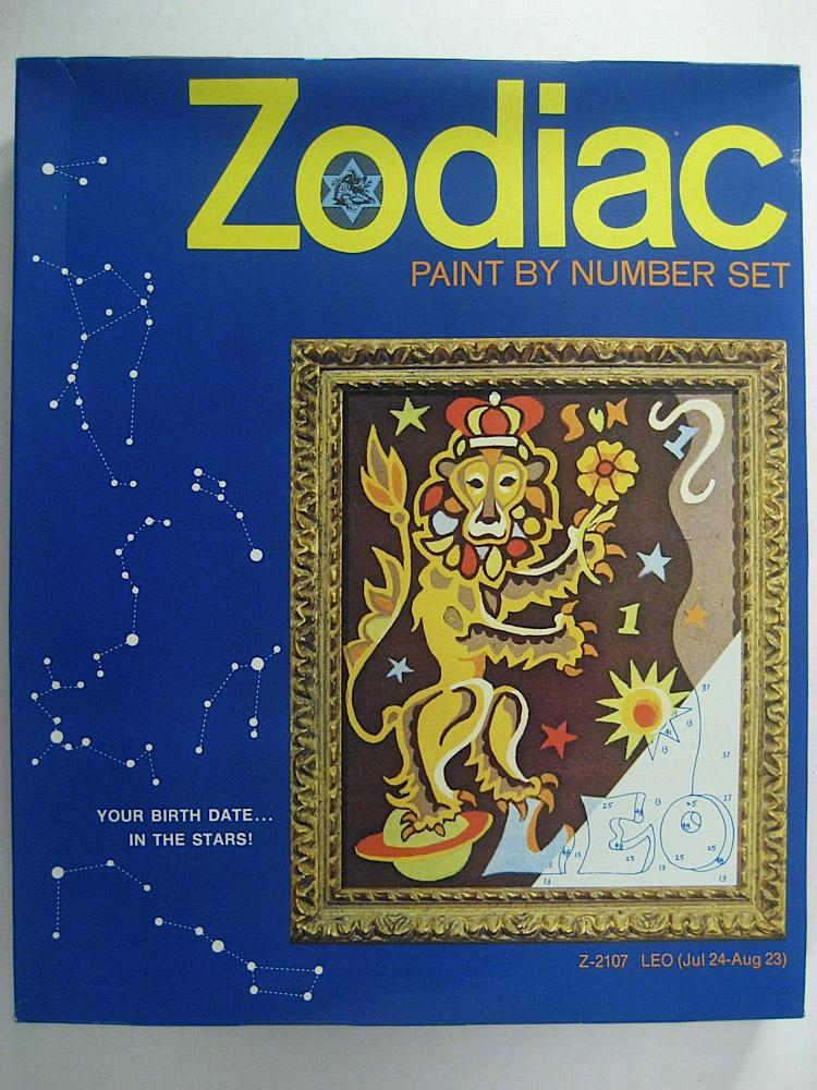 zodiac 2101 12 kit paint by number museum