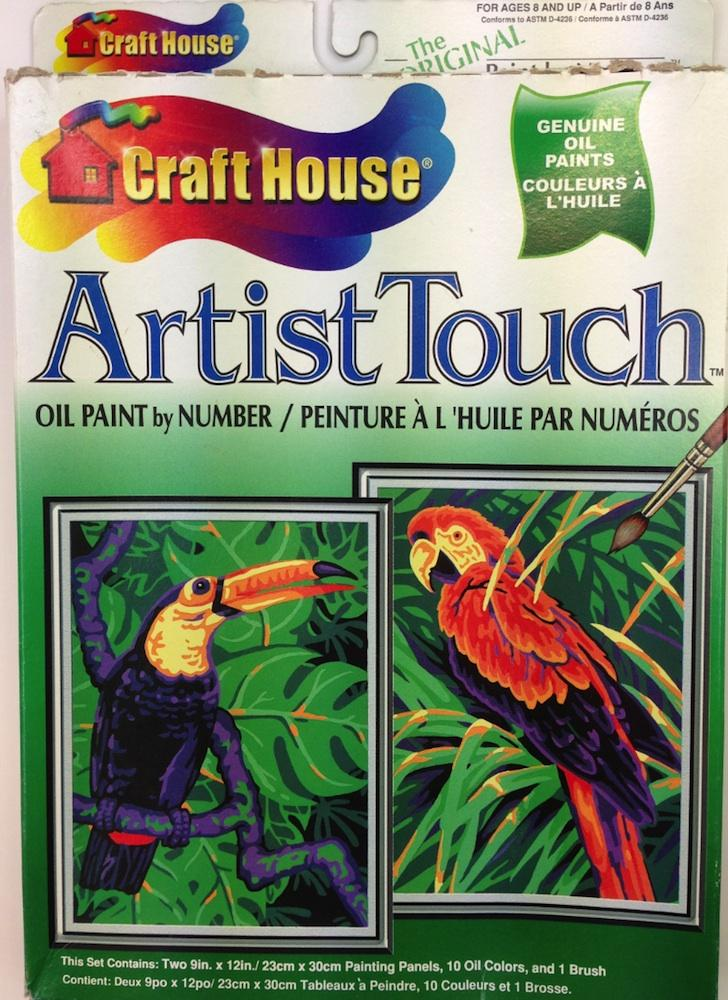 Artist Touch 11253 55586061 Kit Paint By Number Museum