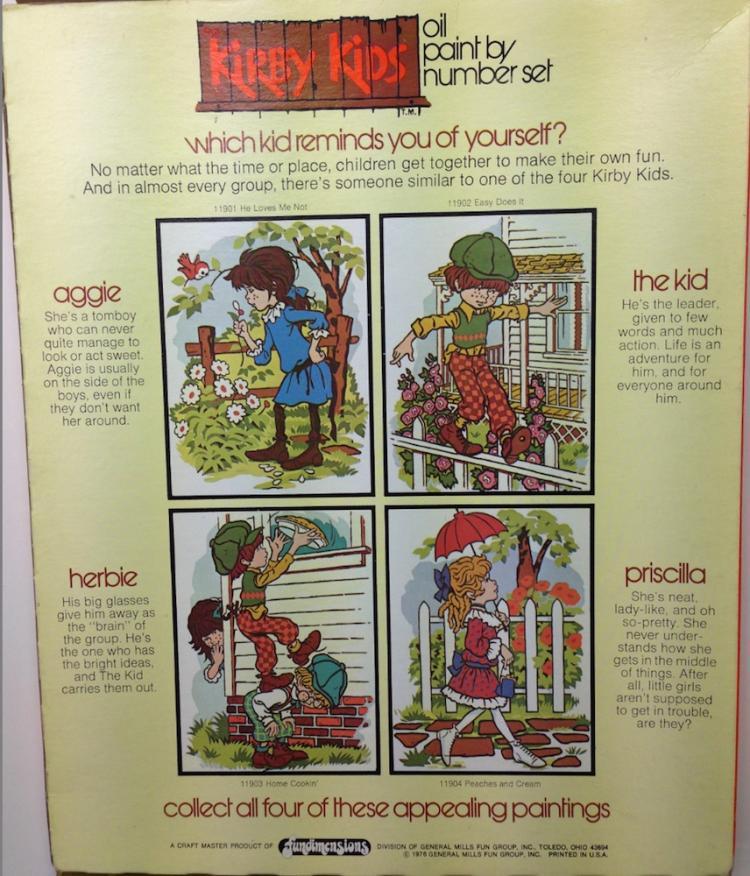 Martin Kirby: The Kirby Kids 11901-4 Kit